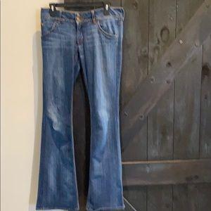 Hudson Bootcut Jeans size 28 / 89% Cotton